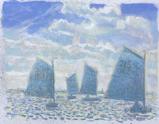 Zeilbootjes